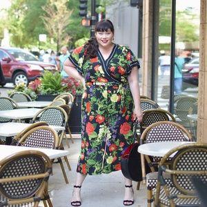 Lane Bryant Floral Jumpsuit - sz 20